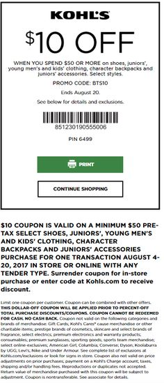 kohls coupons august 2017 coupon codes printable coupons - Halloween Express Coupons Printable