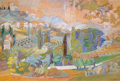 André Lhote (French, 1885-1962), Paysage de Provence  1946