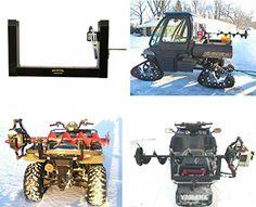 Fishing: Ice Fishing Auger Carrier Holder for Snowmobile, ATV, UTV *Fits Metal…
