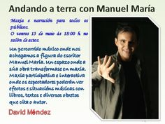 Andando a terra con Manuel María.