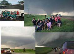 El Reno Oklahoma tornado.  May 2013