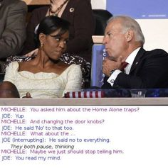 Love these Obama and Biden meme's especially now they've brought Michelle into it lol