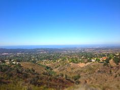 The Jesusita Trail leads to a beautiful view of the ocean and Santa Barbara.
