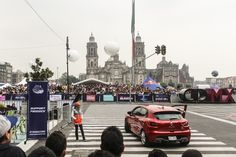 Red Bull F1 Showrun Mexico City 2015.