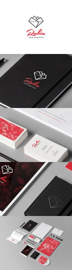 Logotype and identity made for a local spa. Dribbble shots @ http://dribbble.com/shots/1319856-Ruby-Logotype.