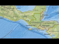 Sismo de magnitud 6,3 frente a la costa de Chiapas México, 9 muertos y m...