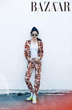 f(x) Krystal - Harper's Bazaar Magazine May Issue...
