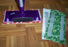 Never buy those expensive Swiffer Wet Jet pads again! These are washable and reusable!