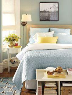 blue bedroom - pretty pretty