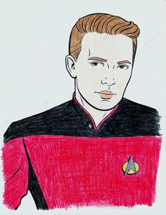 Comedy isn't my forte, so here is my simple, nice, hand-coloured Ensign Crusher.