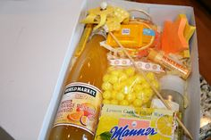 everything to entertain: Box of Sunshine.  What a wonderful way to share some sunshine