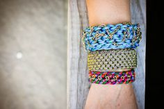 stylish utility cord bracelets