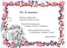 Risultati immagini per poesia mamma