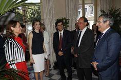 """La Reina Letizia asiste a la apertura de la """"Conferencia Global sobre Salud y Cambio Climático"""" @WHO  07-06-2016"""