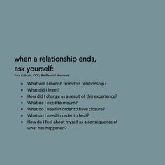 Ending A Relationship, Relationship Quotes, Life Quotes, Ending Quotes, Broken Friendship, Mental And Emotional Health, Love Hurts, Be A Nice Human, Motivational Words