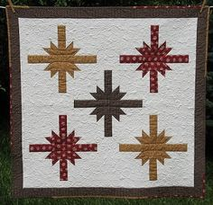 T Star Quilt Pattern