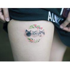 . #tattoo#tattooist#tattooistsol#솔타투#lettering#soltattoo#color#colortattoo#꽃타투#flowertattoo#flower#꽃 .