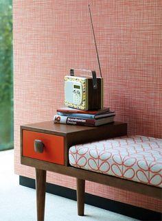 Tapete Gekritzel - Orla Kiely Design von Harlequin