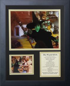 Wizard of Oz - Witch II Framed Photo Collage