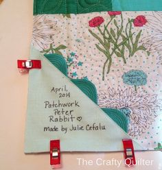 Patchwork Peter Rabbit Tutorial - The Crafty Quilter