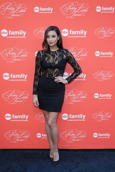 Shay Mitchell looks so gorgeous on the #PLLfinale red carpet!