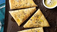 Homemade pide | Pide is the Turkish version of a traditional pita flatbread, and this recipe shows just how easy it is to make your own. Serve it warm with sea salt and olive oil for a satisfying pre-dinner snack or use it to accompany chopped kebab meat and a herby yoghurt.