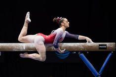 Maggie Nichols women's gymnastics balance beam | 2020-09-20