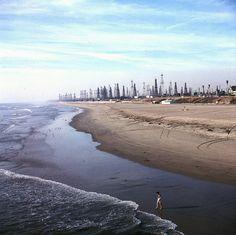 Huntington Beach, 1956 by Orange County Archives, via Flickr
