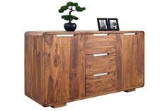 DuNord Design Sideboard PANAJI 145 cm Sheesham Massiv Holz