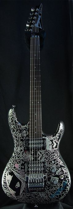 Satriani Guitar it's beautiful http://www.ebay.com/itm/Ibanez-Joe-Satriani-JSBDG-Electric-Guitar-Mint-/350539649445?pt=Guitar&hash=item519dca91a5