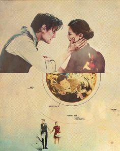 The Doctor + Clara Oswald