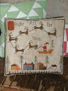 Jingle All the Way - Cross Stitch Pattern