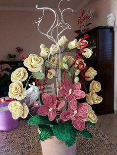 Orchidea realizzata dalla mia amica Mirella chiominto