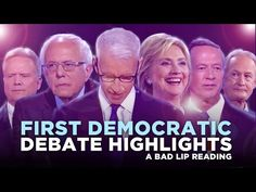 Bad Lip Reading Democratic Debate : theBERRY (This had more substance than the actual debate! Cute)