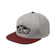 Buy Vans Classic Patch Snapback Grey/Port at Europe's Sickest Longboard Store