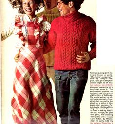 Seventeen Magazine - Dec 1972 - article on 'What To Wear To a Christmas Party