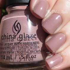 China Glaze Fall 2015 Great Outdoors Collection - My Lodge Or Yours