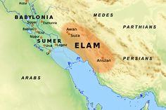 Map od Mesopotamia
