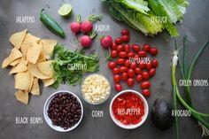 Vegan Taco Salad   via shutterbean