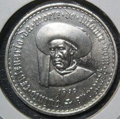 Silver Escudos Coin 1960 Portugal 20 Escudos Coin by ThatsOldMoney