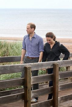 Will and Kate - ♥ this casual shot!!! Bebe'!!! Glad they have had some personal, private time with the baby!!!
