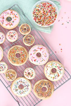 Donut Cookie DIY // How to Bake and Decorate Donut Cookies! | keiko lynn | Bloglovin'