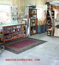 Organize your garage using only junk!  I got my garage under control using mostly things I already had on hand.  Check out the surprising things you can do to control the clutter without spending a dime.   REDOUXINTERIORS.COM FACEBOOK: REDOUX