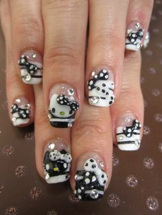 Black & White Hello Kitty