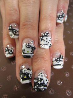 Black & White Hello Kitty