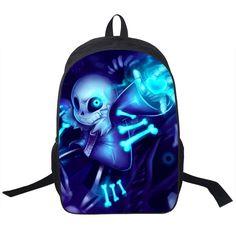 a2242a3272e9 Undertale Sans Backpack Boys Girls School Bags YBookbag Shoulder Backpacks  Undertale Souls