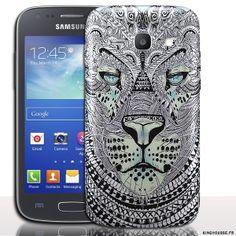 Coque samsung galaxy ace 4 Tigre Azteque - Accessoire pour portable #Coque #Galaxy #Ace #4 #housse #telephone #portable #case #cover #tigre #azteque