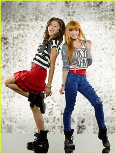 Zendaya and Bella Thorne! cool Outfits!!