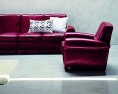 #doimo #salotti #eden #poltrone #mobiliriccelli #furniture #sofa #prugna #violet #pelle #sittingroom  #mr #leather
