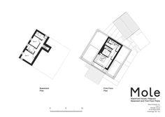 Stackyard House,Basament & First Floor Plan
